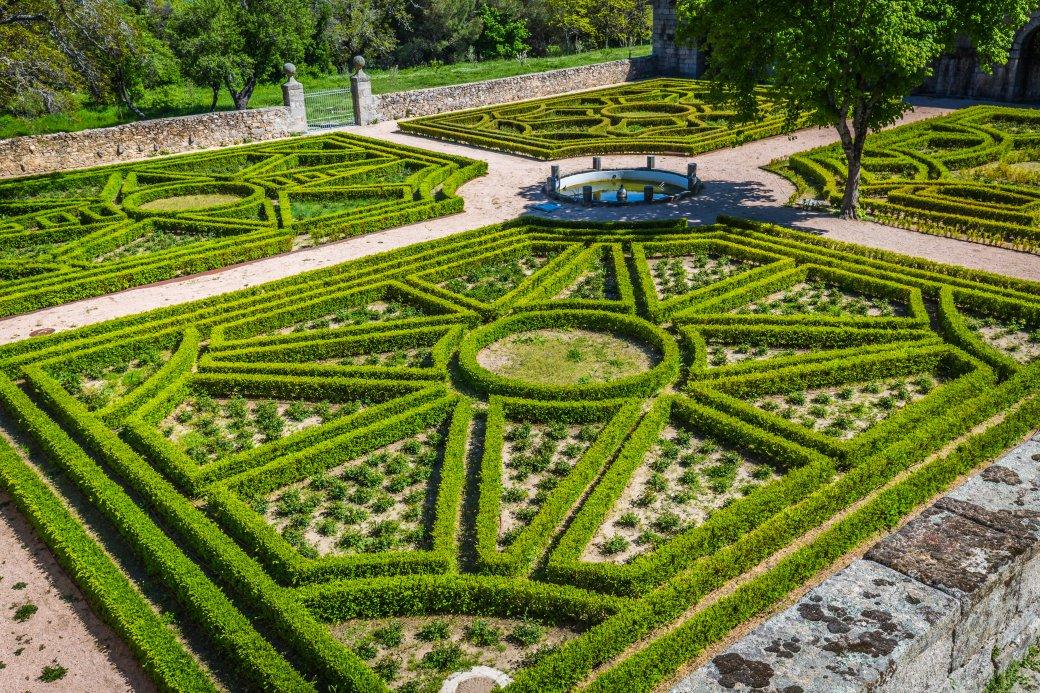 tuin van El Escorial