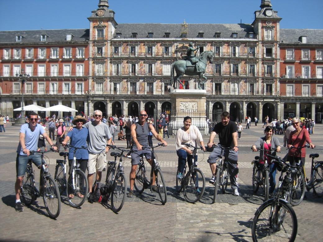 Fietstours door Madrid