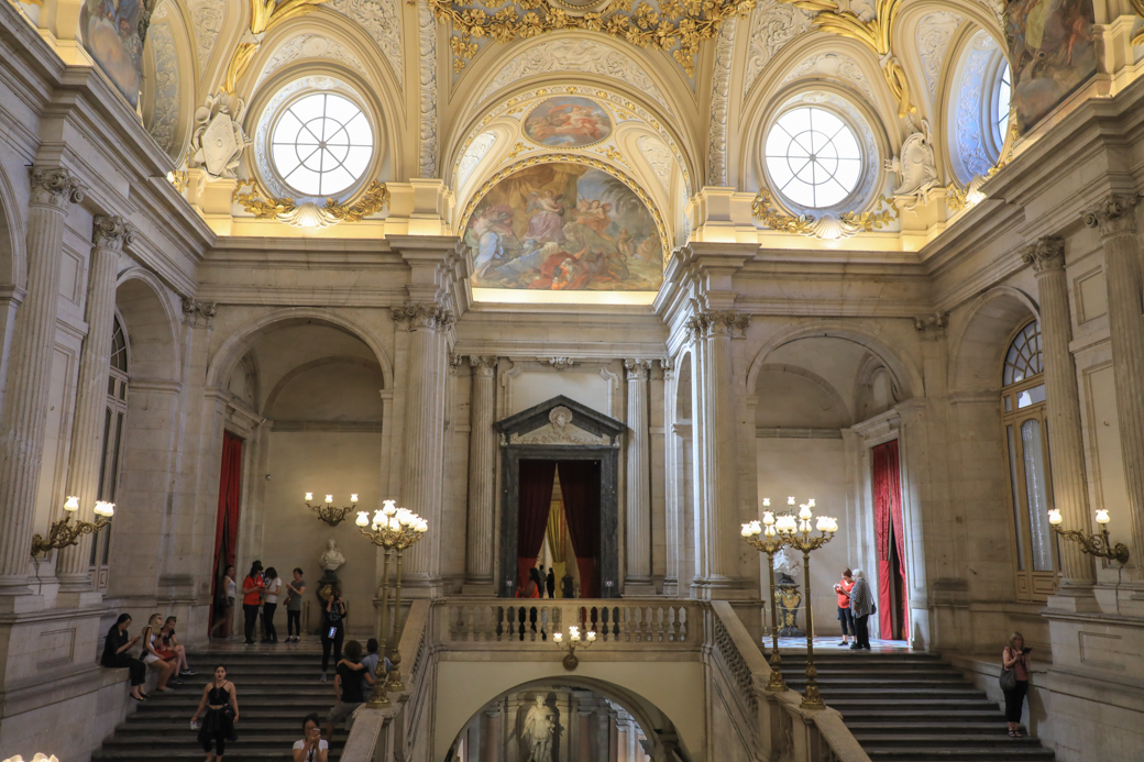 Palacio Real interieur