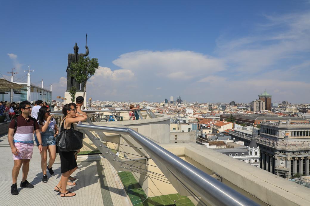 uitzicht op Madrid