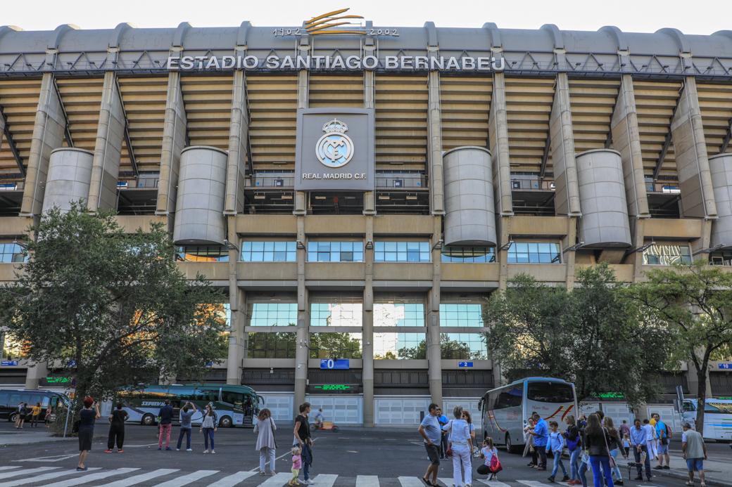 Real Madrid stadion