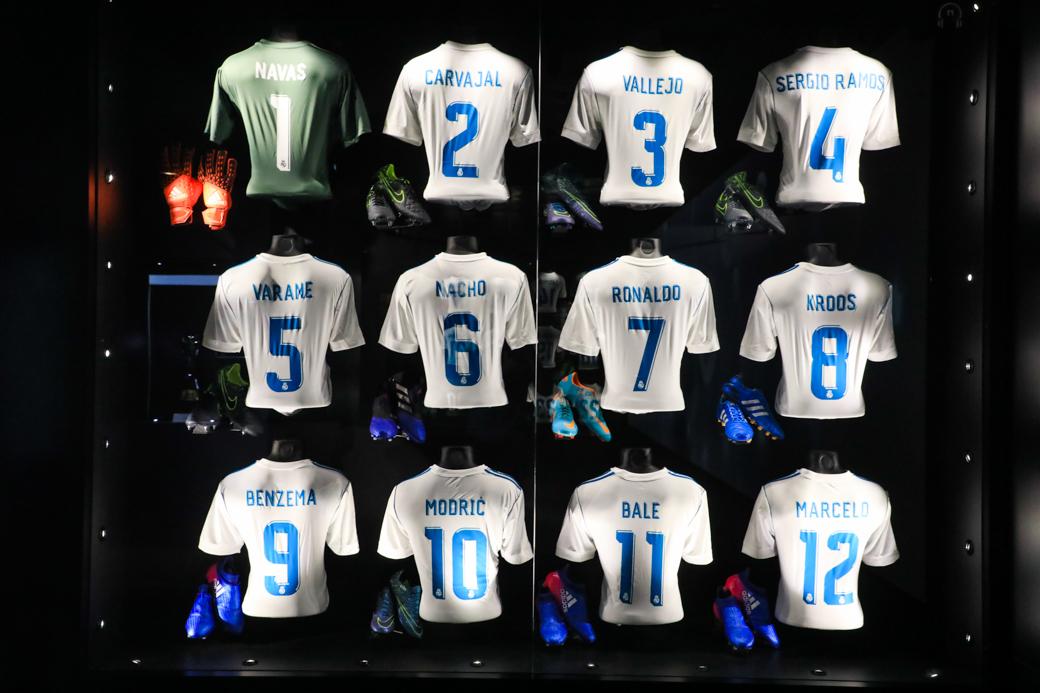 Spelers van Real Madrid